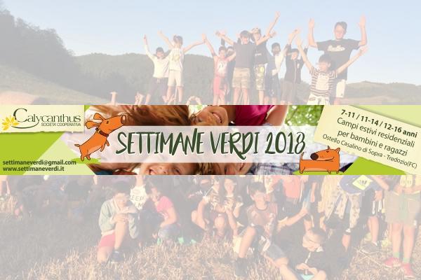 Settimane Verdi 2018!
